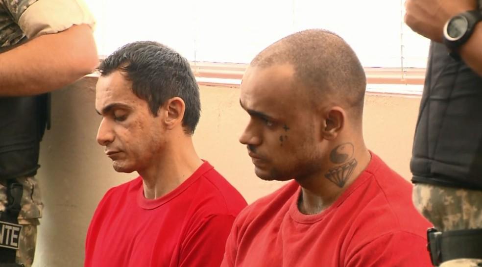 Freire e Santos estão sendo julgados em Cambuí (MG) (Foto: Reprodução EPTV)