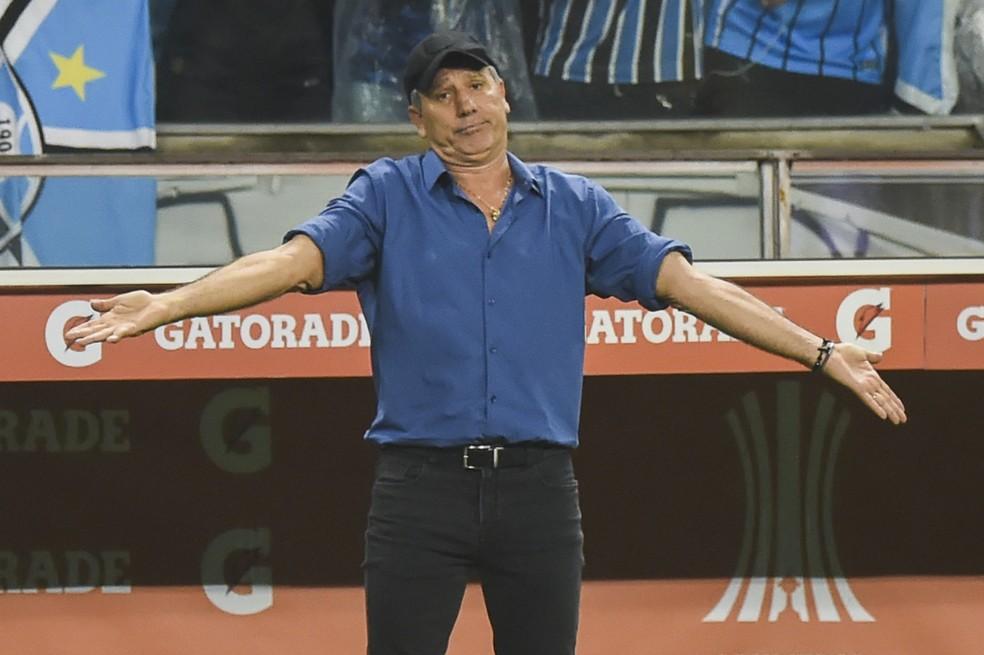 Renato Gaúcho contra o Flamengo — Foto: Vinícius Costa/BP Filmes