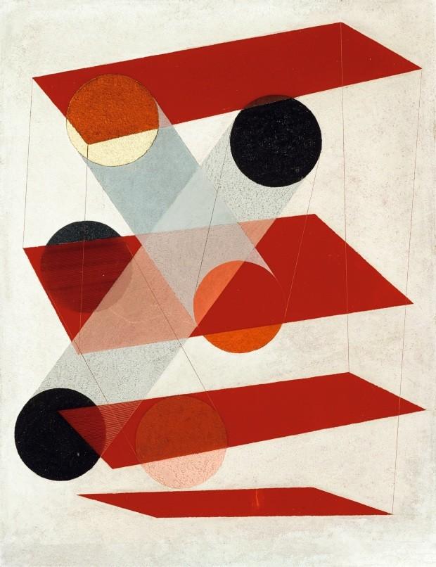 988401 Galalite picture (Gz III), 1932 (óleo sobre plástico) por Moholy-Nagy, Laszlo (1895-1946); 51,4x40,6 cm; Coleção privada; (add.info .: imagem de Galalite (Gz III); Galalitbild (Gz III). Laszlo Moholy-Nagy (1895-1946). Óleo sobre plástico. Assinado  (Foto: www.fotoarena.com.br)