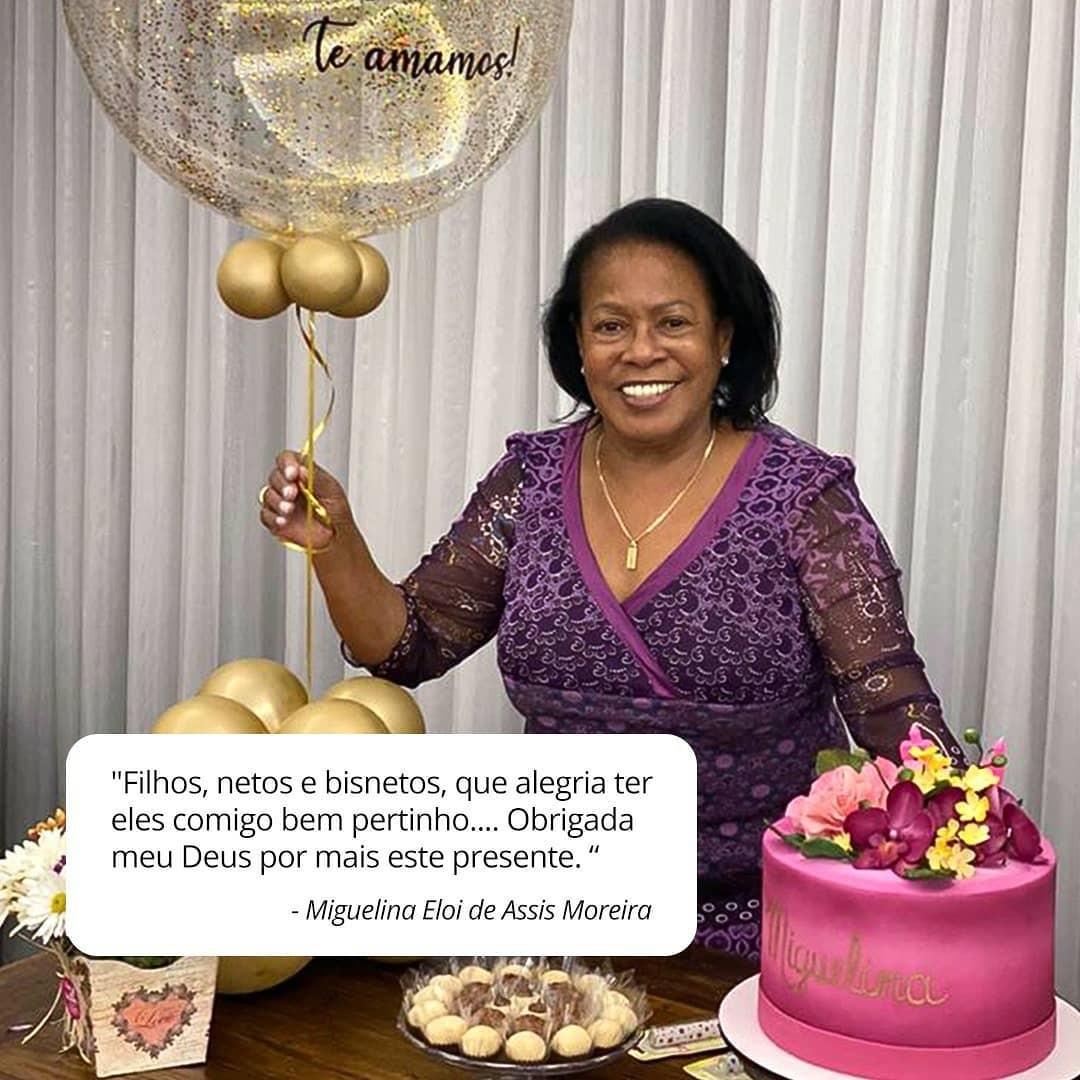 Miguelina Eloi de Assis Moreira, mãe de Ronaldinho Gaúcho (Foto: Reprodução Instagram)