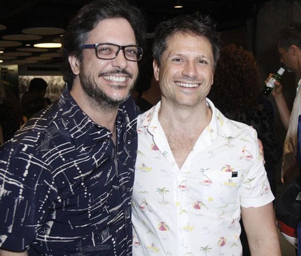 Lùcio Mauro Filho e Felipe Rocha (Foto: Wallace Barbosa/AgNews)