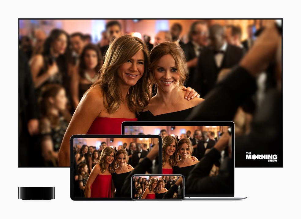 "Série ""The Morning Show"" estará no lançamento do Apple TV Plus — Foto: Divulgação/Apple"
