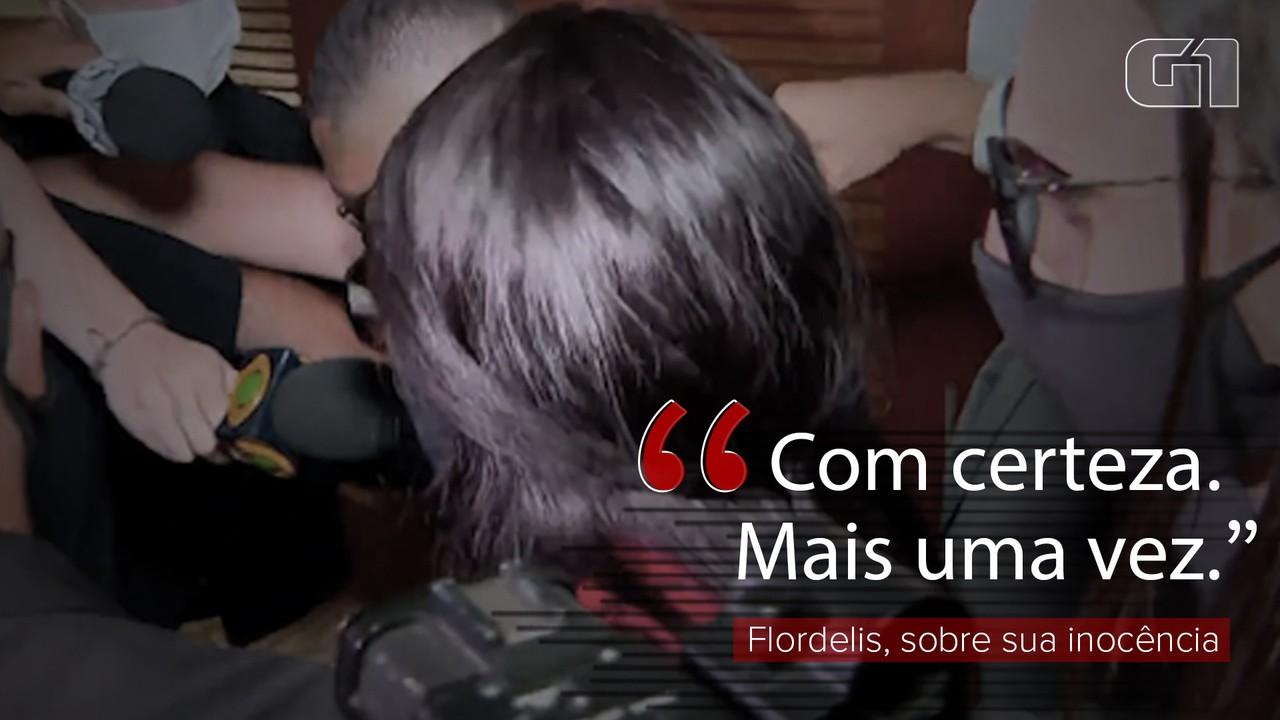 VÍDEO: Flordelis diz que continuará alegando inocência