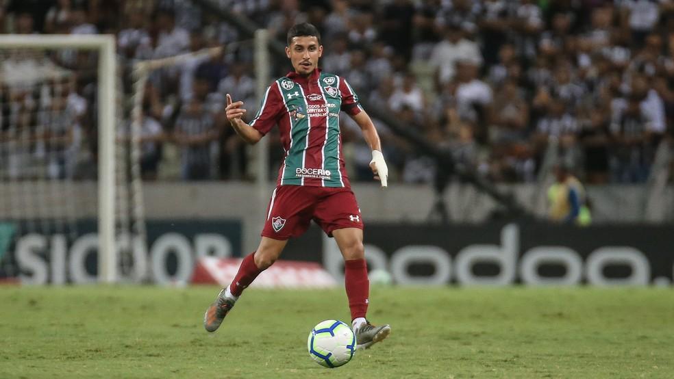 Daniel em ação no Fluminense — Foto: Lucas Merçon/Fluminense FC