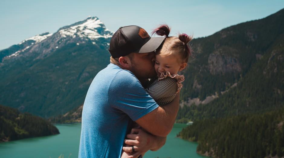 pai, filha, família (Foto: Reprodução/Pexels)