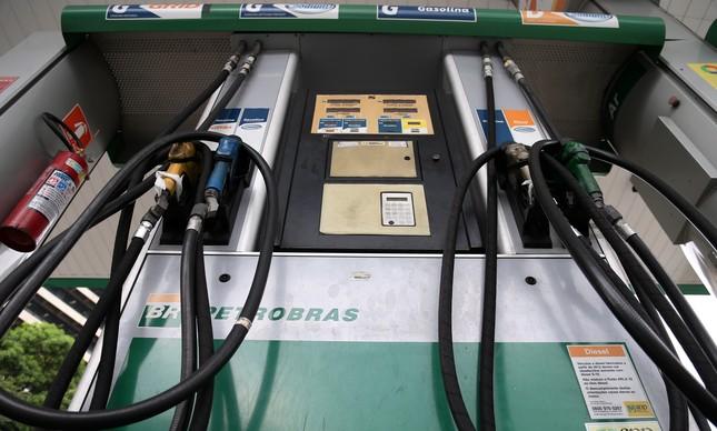 Posto de gasolina no Rio