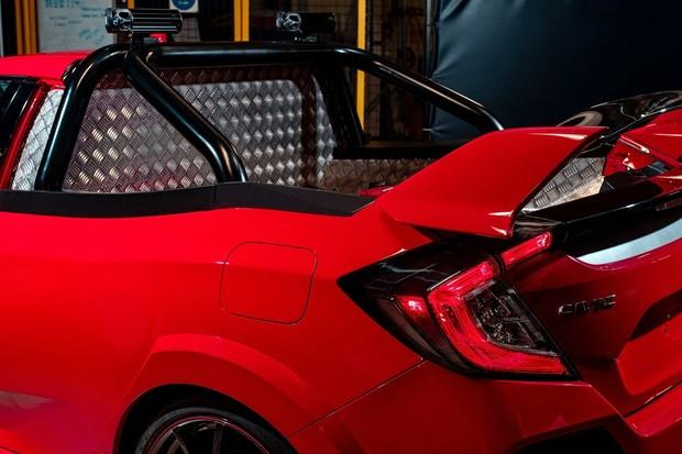 Honda Civic Type R picape (Foto: Divulgação)