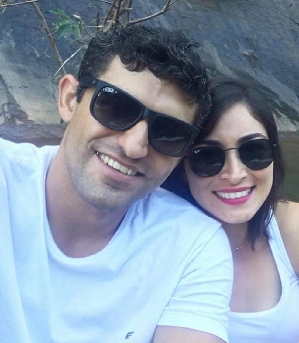 Jonas Amaral e Jane Cherubim — Foto: Reprodução/Redes Sociais