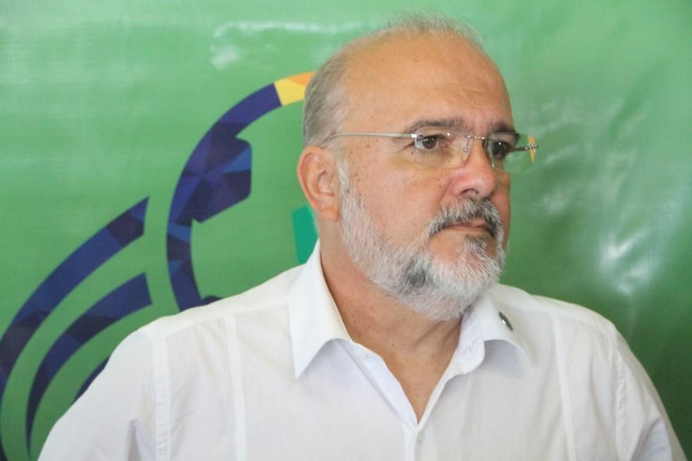 Sérgio Meira é candidato à presidência do Conselho pela situação — Foto: Vitor Oliveira / GloboEsporte.com