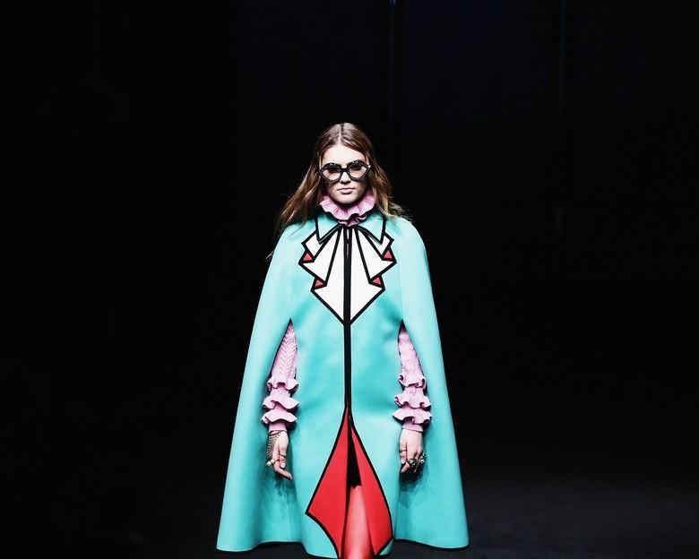 """Expo fashion de 2019 do Metropolitan Museum terá o tema """"Camp: Notes on Fashion"""". Na foto, um look da Gucci de Alessandro Michele, apoiadora da edição (Foto: Reprodução/Instagram)"""