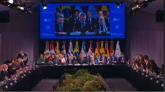 AO VIVO: cúpula do Mercosul reúne líderes na Argentina