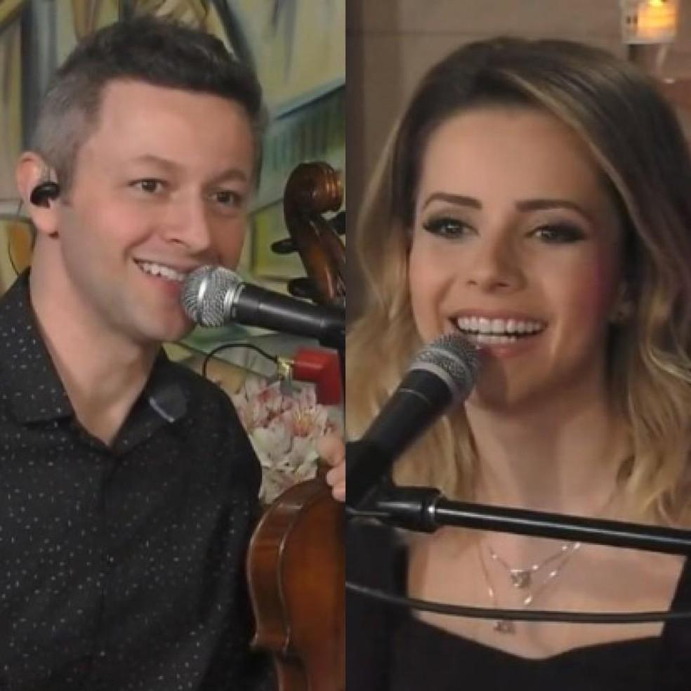 Sandy faz live romântica com o marido Lucas Lima na véspera do Dia dos  Namorados   Famosos
