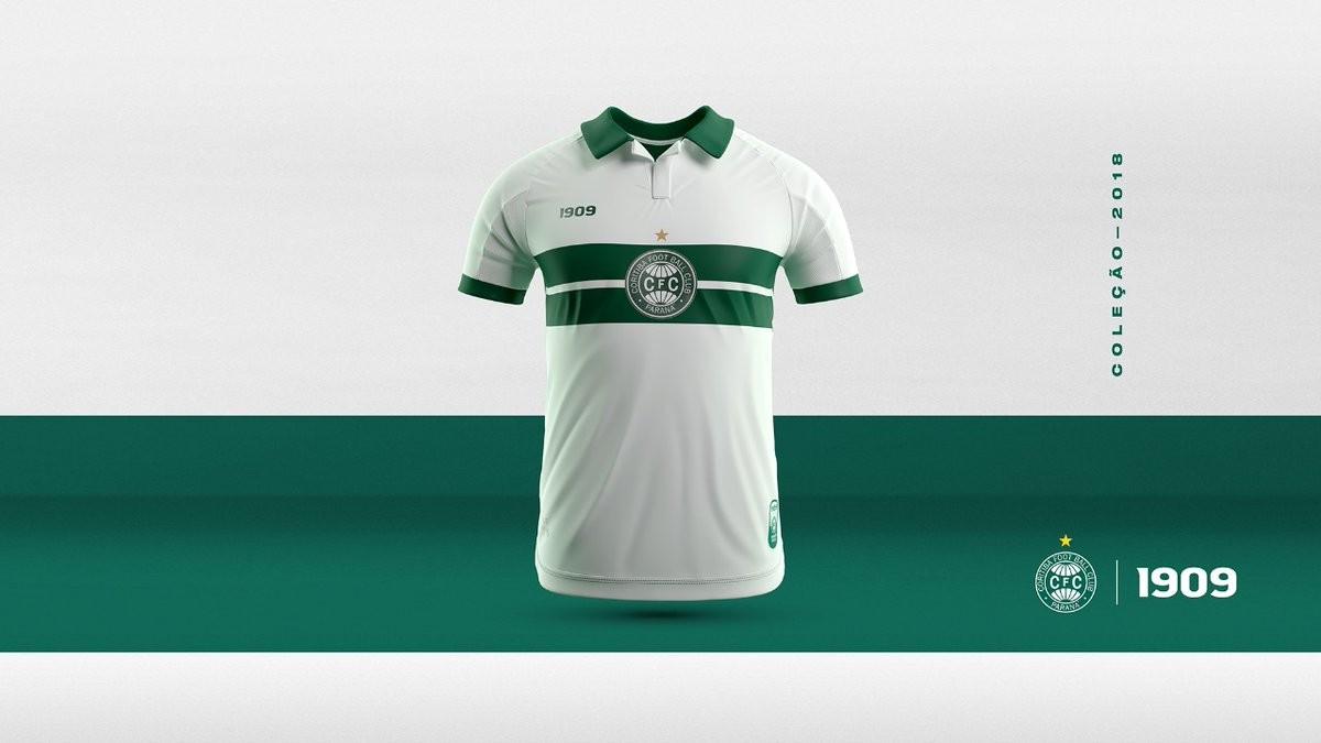 Vaza nas redes sociais camisa nova produzida pelo Coritiba  veja imagem  9ca4fc142f3