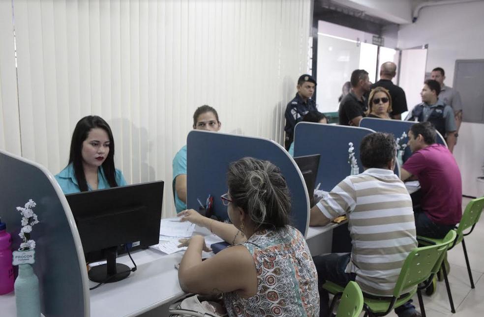 Esta é a sexta edição do mutirão de renegociação de vítima, realizado pelo Procon Fortaleza. — Foto: Divulgação / Procon Fortaleza