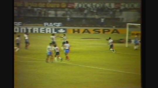 Você se lembra? Atlético-MG goleia Bahia por 6 a 0, pelo Campeonato Brasileiro de 1984