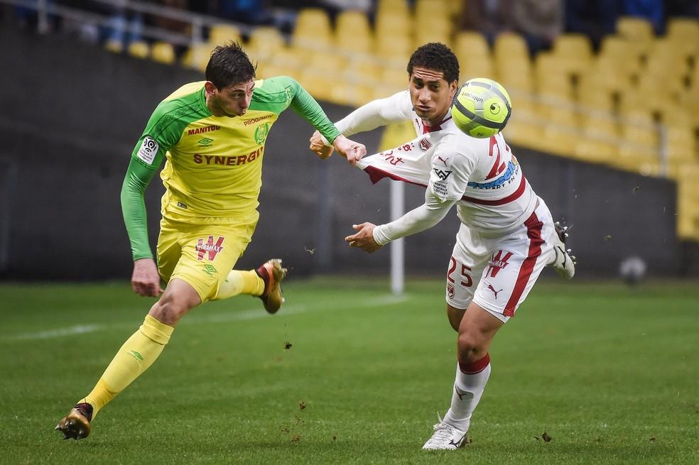 Pablo em ação pelo Bordeaux na vitória sobre o Nantes  fora de casa (Foto: JEAN-SEBASTIEN EVRARD / AFP)