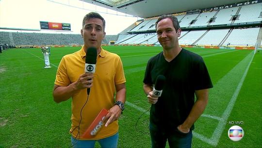 Assista ao Globo Esporte SP de quarta-feira