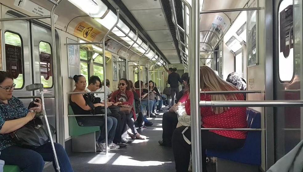 Metrô de Belo Horizonte — Foto: Flávia Cristini/G1