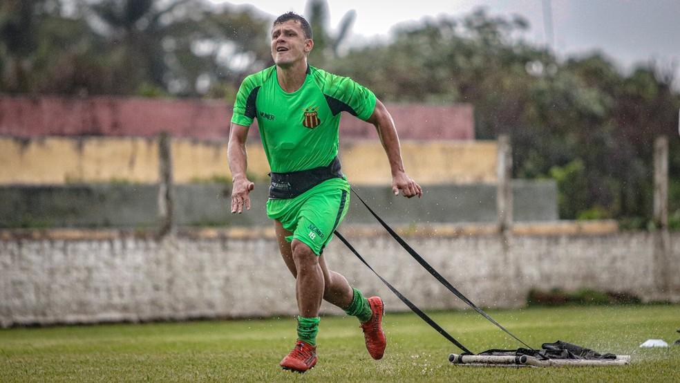 Ricardo Capanema exalta também treinos intensos do Sampaio — Foto: Lucas Almeida/L17 Comunicação