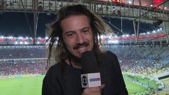 Cartolouco acompanha duelo entre Flamengo e Cruzeiro no Maracanã pela Libertadores
