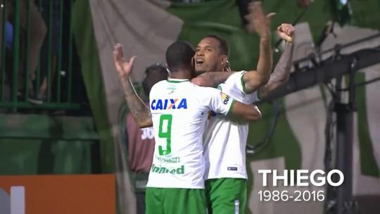 Thiego, o zagueiro experiente e de gols que chamaram atenção do Santos