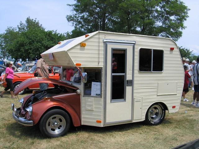 Volkswagen Fusca Motorhome (Foto: Chris Iwanowski - Flickr)