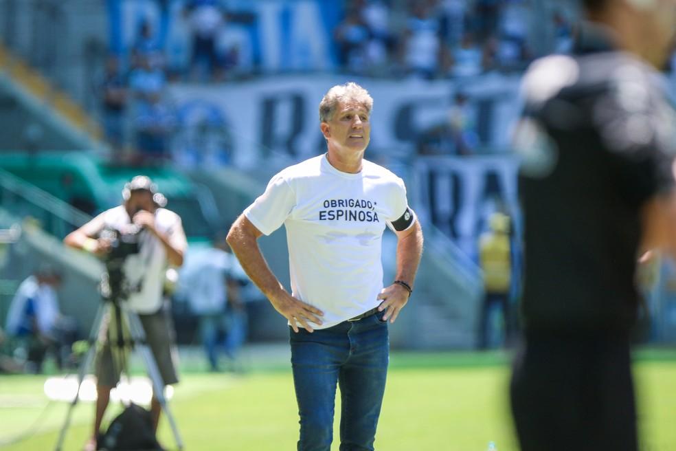 Renato Gaúcho, técnico do Grêmio — Foto: Fernando Alves/DVG/Grêmio