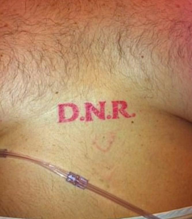 Outro caso de DNR