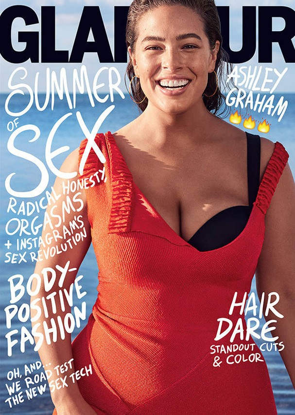 Ashley Graham  (Foto:  Glamour US)