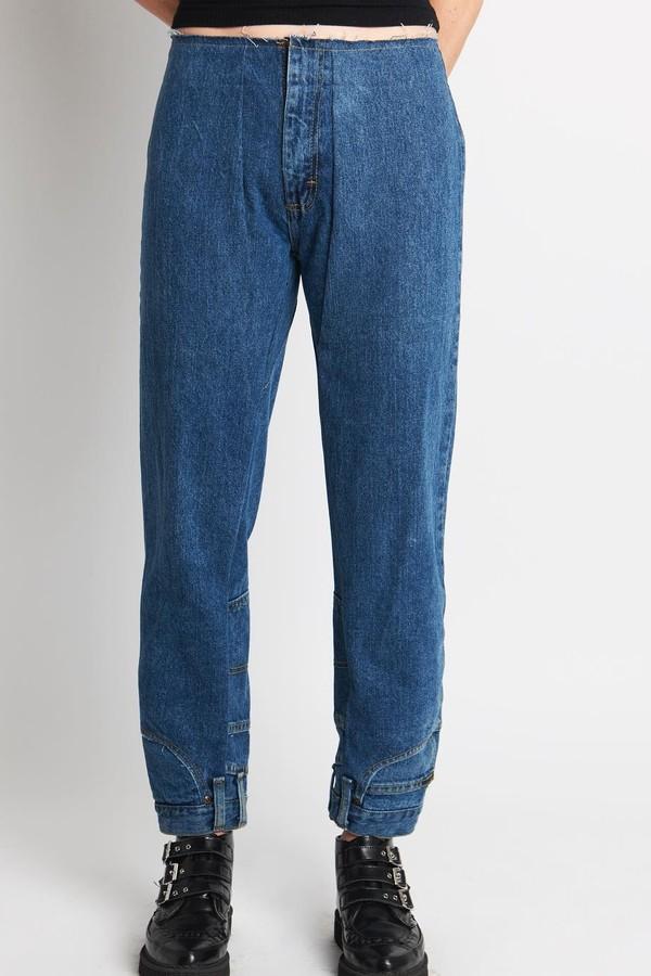 O jeans nunca mais será o mesmo! (Foto: Reprodução Instagram)