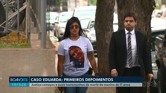 Testemunhas são ouvidas em audiência sobre morte de Eduarda Shigematsu