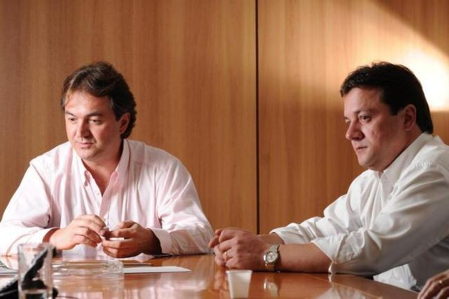 Joesley Batista e Wesley Batista, donos da JBS (Foto: Claudio Belli / Valor Econômico / Agência O Globo)