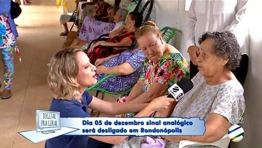 Digital pra Geral vai ao Lar dos Idosos em Rondonópolis