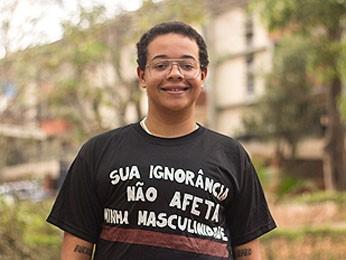 Marcelo Zoby conseguiu direito de usar nome que escolheu em documentos internos da UnB (Foto: Mariana Costa/UnB Agência)