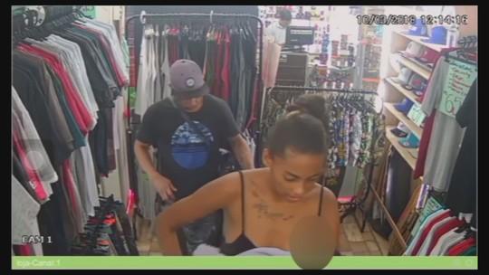 Casal usa bebê como disfarce para furtar loja em SP; assista
