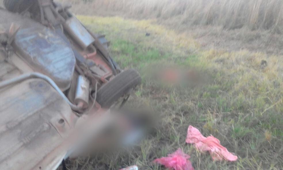 Duas pessoas morreram e três ficaram feridas (Foto: Divulgação )