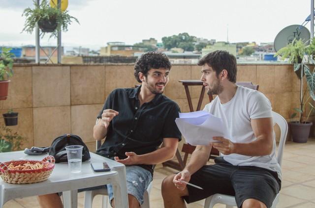 Gabriel Contente e Daniel Rangel (Foto: Ruan Lopes)