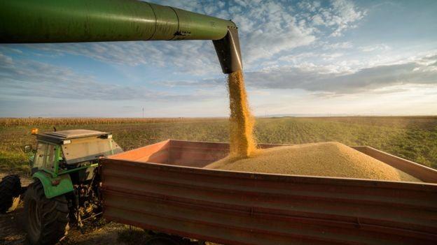 Brasil e EUA são ferrenhos concorrentes no comércio exterior, disputando commodities e petróleo (Foto: Getty Images/BBC)