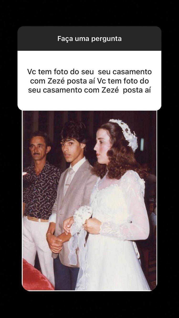 Zilu Godói e Zezé Di Camargo foram casados de 1982 a 2014 (Foto: Reprodução/Instagram)