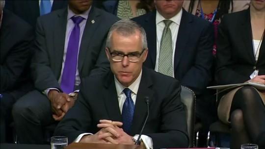 Donald Trump demite ex-vice-diretor do FBI, Andrew McCabe