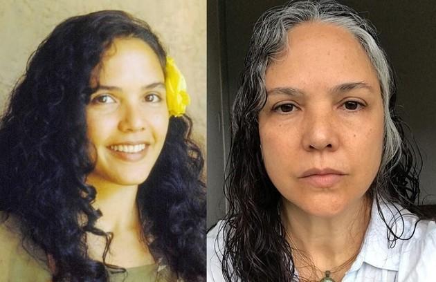 Tereza Seiblitz viveu Joaninha. Mulher de João Galinha (Osmar Padro), ela era assediada pelo patrão. A atriz está longe da TV desde 'Milagres de Jesus', em 2015 (Foto: Reprodução)