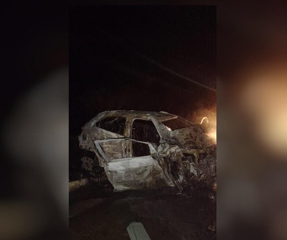 Ônibus com romeiros bate em carro e deixa uma pessoa morta em Canindé, no Ceará