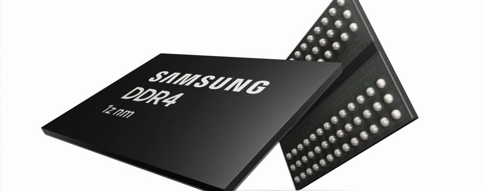 Samsung anunciou a produção de uma DDR4 já baseada em DDR5 — Foto: Divulgação/Samsung