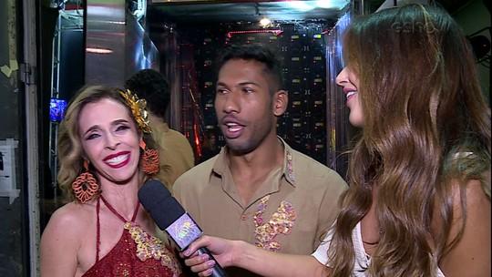 Mulheres comentam apresentação de forró no 'Dança dos Famosos'