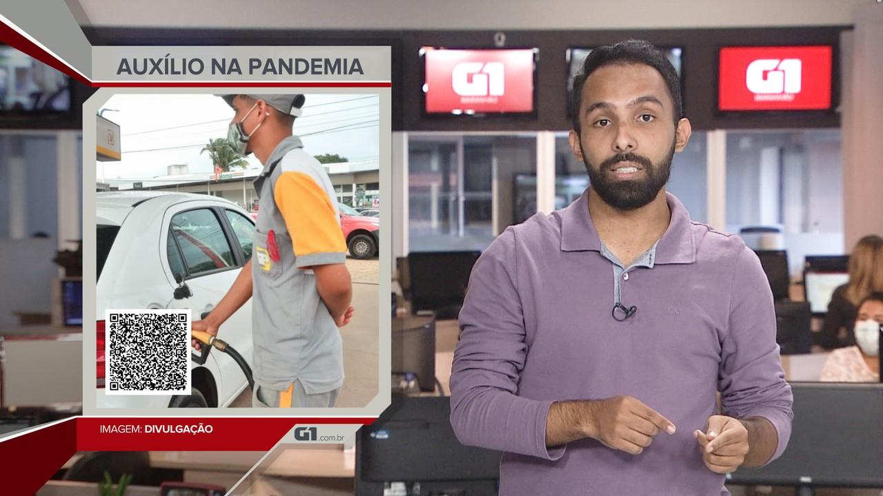 G1 em 1 Minuto: Governo prorroga prazo para solicitação do auxílio-combustível no MA