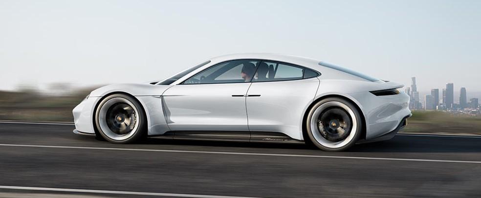 Porsche Taycan — Foto: Porsche / Divulgação