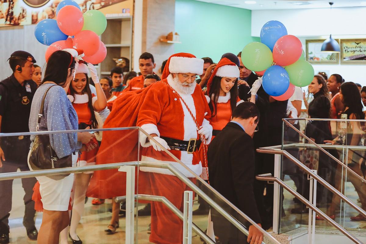 Papai Noel deve chegar em moto de alta cilindrada em shopping de Boa Vista