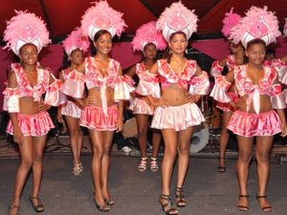 Candidatas a raina do carnaval — Foto: Divulgação
