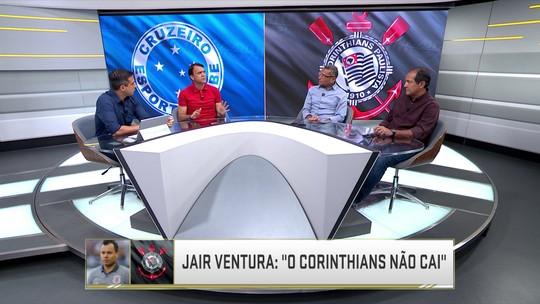 Para Petkovic, Corinthians precisa ligar sinal de alerta; Muricy acha que Jair está pressionado