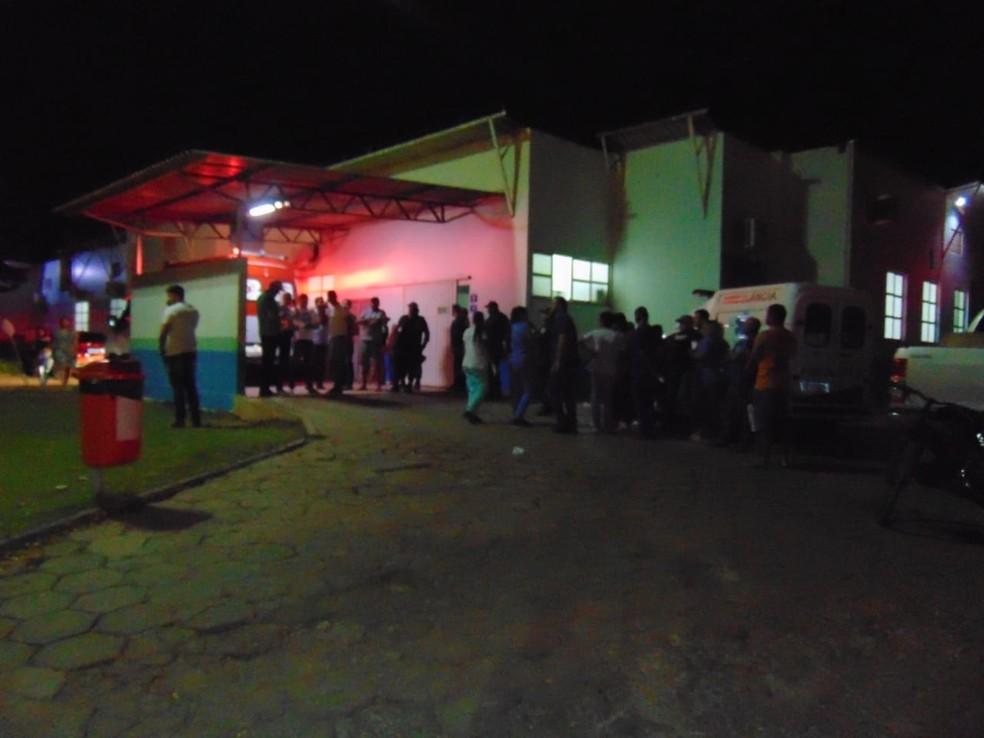 Empresário é morto a tiros após discussão na frente da casa da mãe no oeste da Bahia — Foto: Blogbraga/ Edivaldo Braga